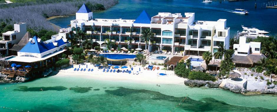 Isla mujeres cancun small luxury resorts hotels hotel for Best small beach hotels